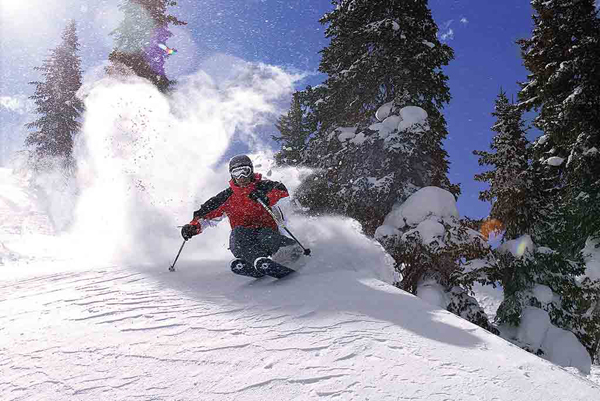 C Lazy U Alpine Skiing