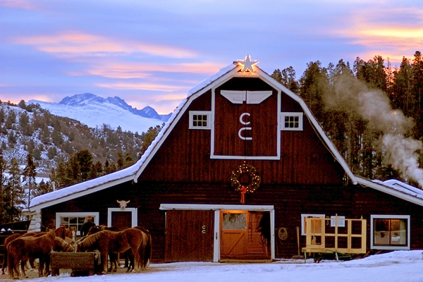 C Lazy U Winter Barn