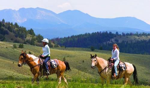 c lazy u horseback riding