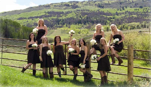C Lazy U Colorado ranch weddings