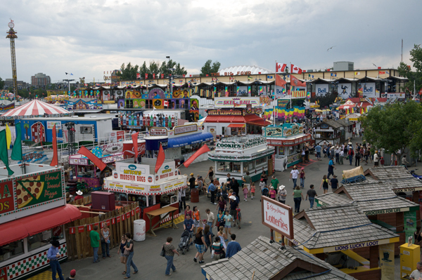 Calgary Stampede History Exotic Food And Horses In