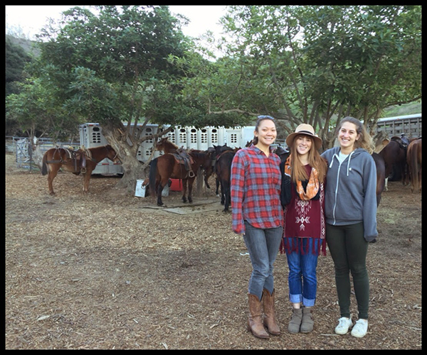 California horseback riding