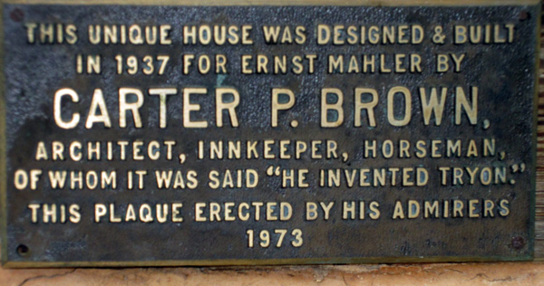 Carter Brown home