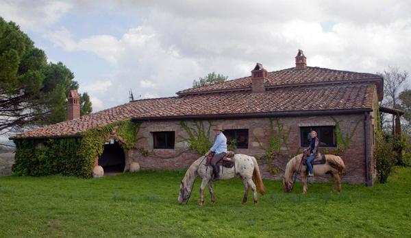 castellare di tonda italy horseback