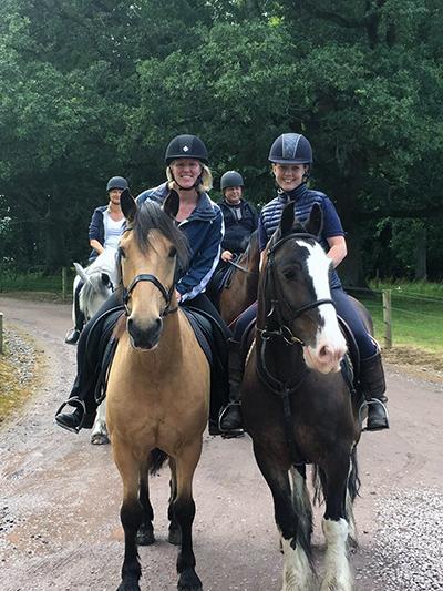 Castle Leslie Ireland horseback