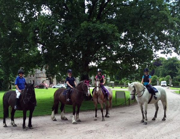 castle leslie equestrian ireland kids camp