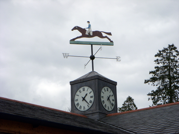 Castle Leslie weathervane