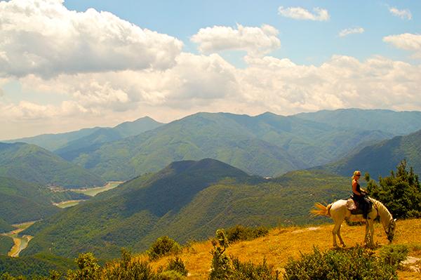 Catalonia Spain horse riding