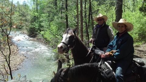 cedar lake horse camping oklahoma