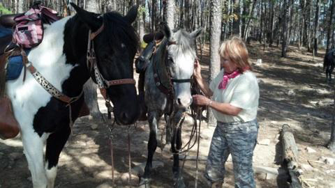 cedar lake horseback riding