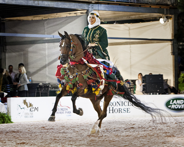 Central Park Horse Show Arabian Native Costume