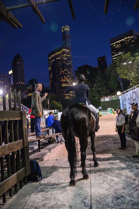 Central Park Horse Show Jumper