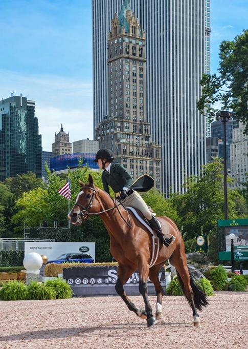 Central Park Horse Show Hunter Jumper