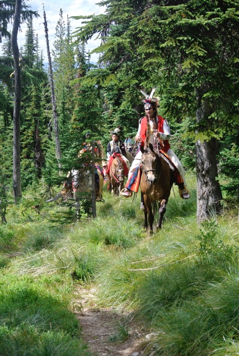 Chief Joseph Trail Horseback Riding