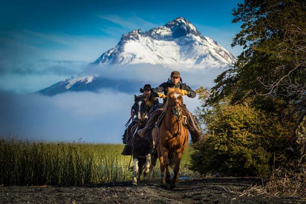 Mountains in Patagonia Horseback Riding