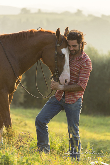 Christiane Slawik Workshop Tuscany horses