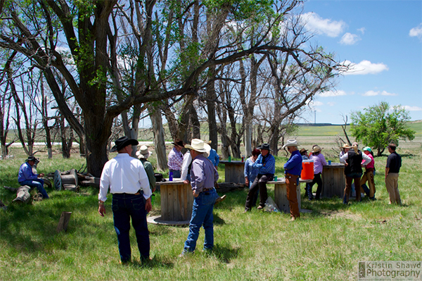 Colorado cattle company ranch picnic lunch