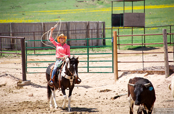 Colorado Cattle Company roping vacations