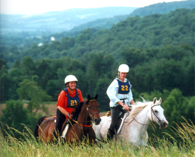 competitive trail riding vermont
