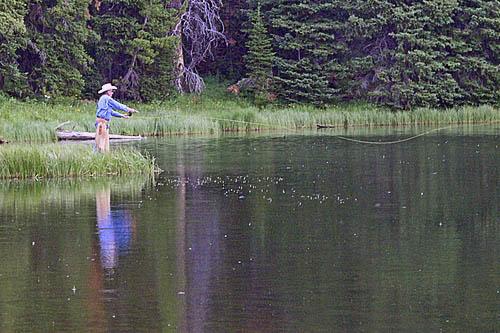 covered wagon ranch fishing