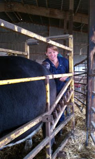 Equine veterinarian and cutting horse rider Dr. Crystal Dewitt