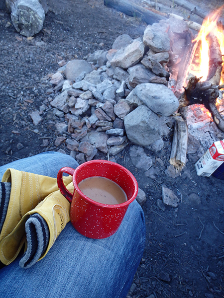 cowboy coffee yellowstone national park