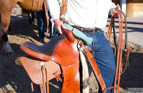 cowboy saddle Colorado tack
