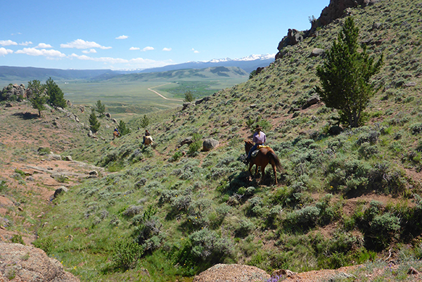 The Crazy Mountain Ranch ride