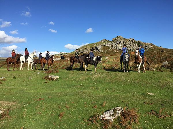 Dartmoor Derby England horseback