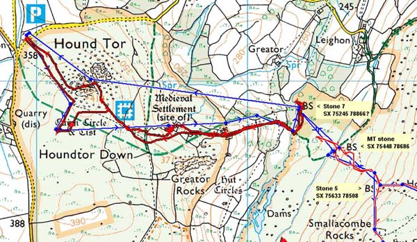 dartmoor horse riding route