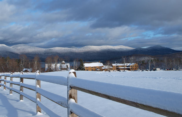 Beautiful winter at Mountain Top Resort