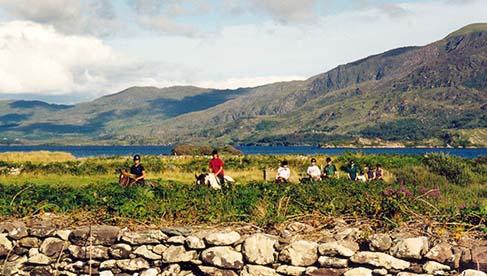 Ireland Horseback Riding Vacations Ring of Kerry