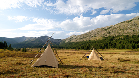 horseback pack trips in Bob Marshall Wilderness Montana