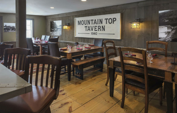 Finest dining at Mountain Top Tavern