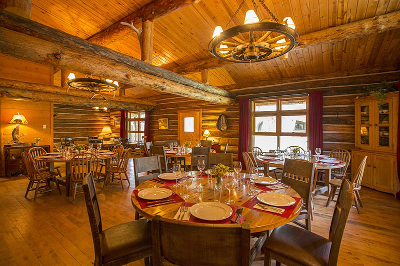 Lazy L & B Ranch Wyoming Dining Room