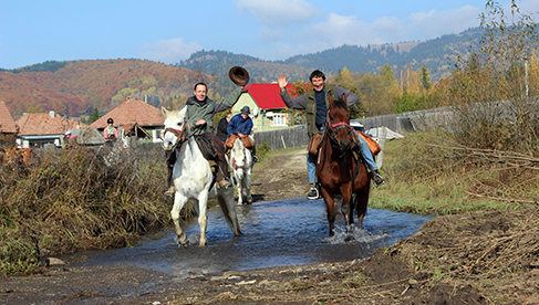 Transylvania Horseback Riding Vacations