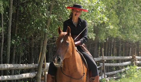 Trapper Creek Ranch Horseback Vacations Wyoming