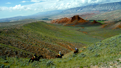 Trapper Creek Ranch Wyoming Riding Vacations