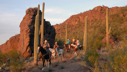 White Stallion Scenic Ride, Arizona Dude Ranch Association