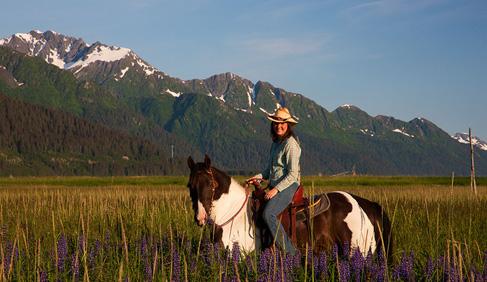 Bardy's Trail Rides- Alaska Horseback Riding