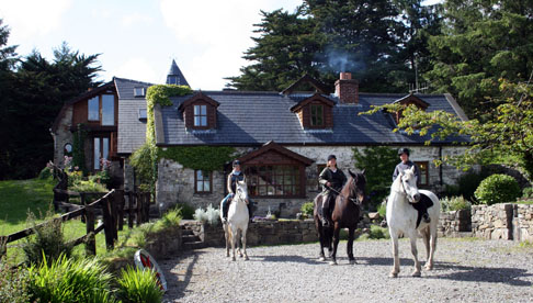 Forty-five Irish horses await riders for a variety of vacations in this peaceful part of Ireland.