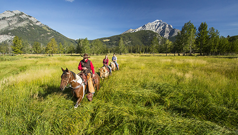 Banff Trail Riders Canada horseback riding vacations