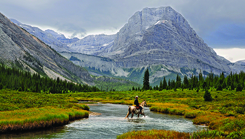 Banff Trail Riders Canadian Rockies horse riding holiday