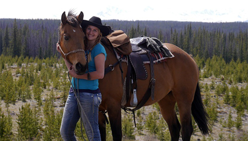 Big Creek Lodge Canada Equestrian Holidays