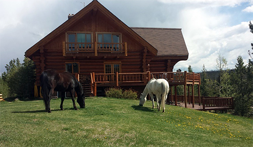 Big Creek Lodge Canada Equestrian Vacations