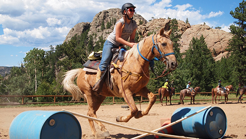 Cheley Colorado Camps Horseback Riding Camps