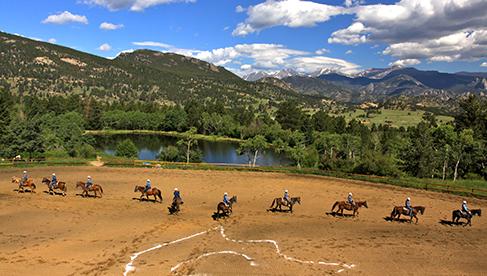 Cheley Colorado Camps Colorado Rocky Mountain Horsemanship Camps