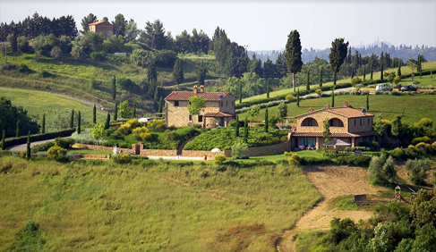 Castellare di Tonda Riding Vacations Tuscany