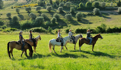 Castellare di Tonda Resort- Italy Riding Vacations