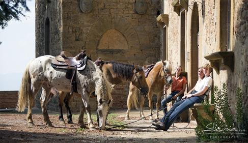 Castellare di Tonda Tuscany Horse Riding Holidays